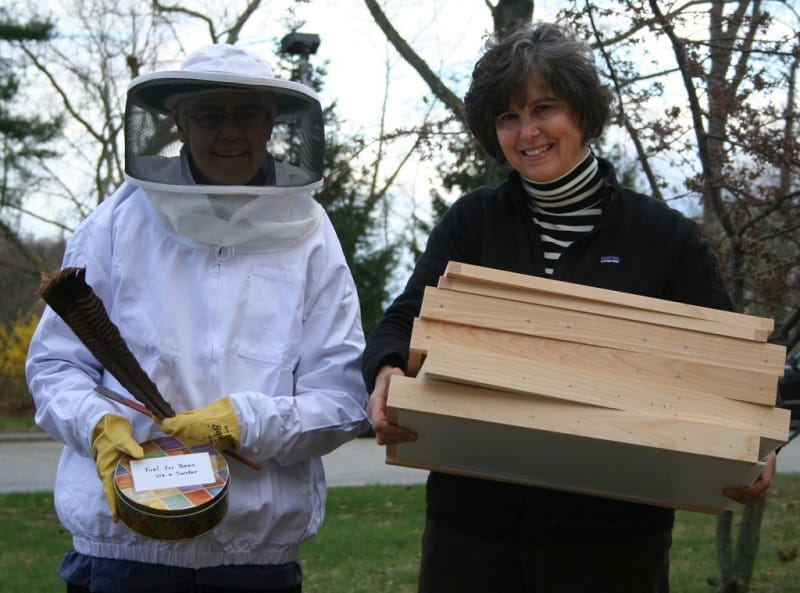 Bette in Bee Suit and Regina